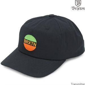 帽子 キャップ Brixton ブリクストン Transmitter Snapback Cap ブラック トランスミッター ブランド ファッション メンズ レディース 10272|cutback2