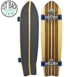 スラスター スケートボード コンプリート CLASSIC FISH 36(長さ91cm) スケボー サーフスケート グラビティ カーバー|cutback2