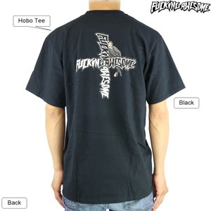 Fucking Awesome ファッキンオーサム Hobo Tee Black ジェイソンディル ホーボー ホームレス メンズ ストリート ファッション 半袖 Tシャツ|cutback2