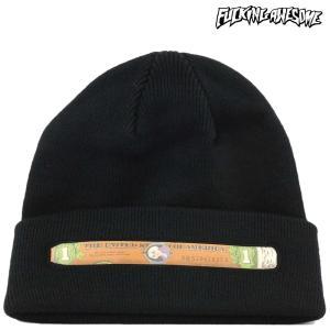 Fucking Awesome ファッキンオーサム ニット帽 ビーニー Blunt Beanie トラブル スケートボード スケボー 帽子 ブランド メンズ レディース|cutback2