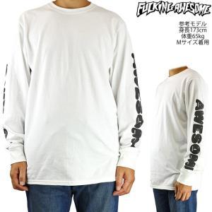 FUCKING AWESOME ファッキンオーサム ロングスリーブ Tシャツ 半袖 メンズ Teeth L/S Tee|cutback2