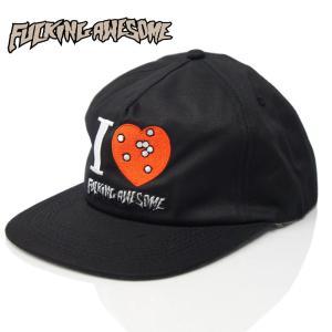 Fucking Awesome ファッキンオーサム I Heart FA Hat Black ジェイソン ディル  メンズ ストリート ファッション キャップ|cutback2