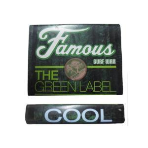 フェイマス THE GREEN LABEL Cool=春秋用(14-19℃) フェイマス ワックス ...