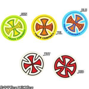 Independent インディペンデント Cross Decal Sticker 約タテ2cm×ヨコ2cm スケートボード スケボー シール ステッカー