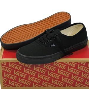 VANS ( バンズ ヴァンズ ) Classic Authentic Black/Black ( 23-30cm ) ( オーセンティック キャンパス USA企画 クラシック シューズ スニーカー 靴 メンズ レ cutback2