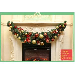 2018新作クリスマスリース/ドア飾り/クリスマス飾り/玄関飾り/長120cm/christmasおしゃれ全品2枚で送料無料 壁掛け 店舗用 法人用 装飾
