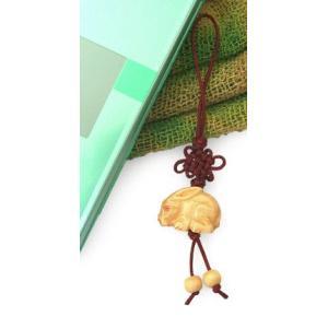 ストラップ 開運 カウボーン うさぎ(出世運 仕事運 安産祈願 子宝運 縁起物)根付 携帯ストラップ ギフト|cutemania