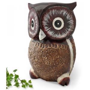 フクロウはその大きな眼と思索的な風貌(?)からか、知恵の神様や魔除けとして世界中で愛されている鳥です...