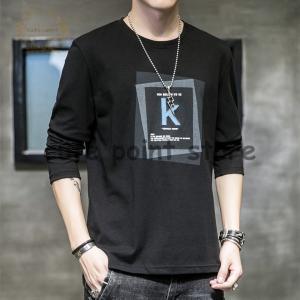 Tシャツ メンズ 長袖 無地 カジュアルシャツ ロンT ティーシャツ 切り替え 薄手 カットソー フ...