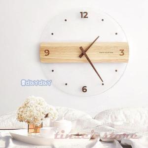 壁掛け時計 壁掛時計 掛け時計  木製 おしゃれ ウォールクロック クロック 時計 インテリア壁掛け...