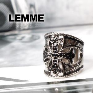 アクセサリー リング 指輪 クロス 十字架 メンズ レディー...