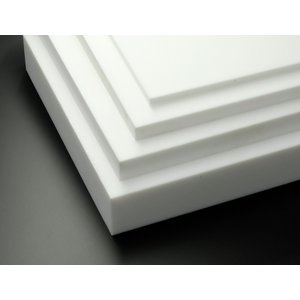テフロンシート/板 PTFE 12-100-100 白 cutpla