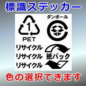 リサイクルセット2 ステッカー|cuttingsoul
