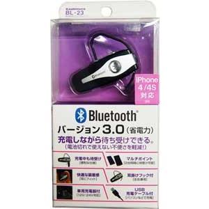 カシムラ BL-23 Bluetooth3.0 イヤホンマイクマルチポイント cvskumamoto