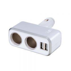 ナポレックス Fizz-938 イルミソケットD2 USB 4.8A|cvskumamoto