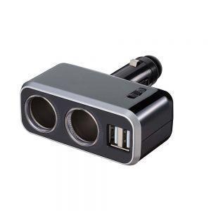 ナポレックス Fizz-991 イルミソケットD2 USB 4.8A|cvskumamoto