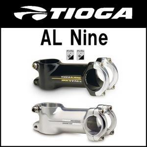 【売り切り特価1点限り】自転車 ステム TIOGA【タイオガ】 AL Nine ALナイン ハンドルクランプ径25.4mm 84/96度|cw-trinity