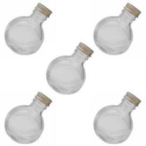 ハーバリウム 瓶 ネコ 100ml 5本 キャップ付き ハーバリウム ボトル|cwoo1st