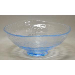 ガラス平茶碗 ブルー|cyadougu-hougadou