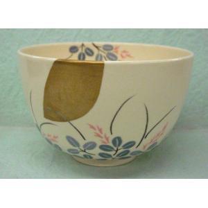 <茶道具・茶碗>萩に月の絵の茶碗 須山昇華作|cyadougu-hougadou