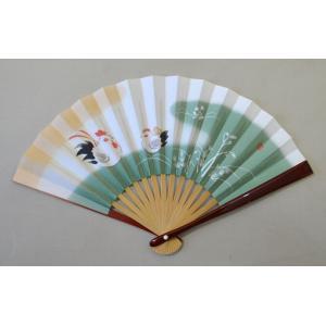 茶道用花月扇子 土鈴 鳥 女性用 溜塗|cyadougu-hougadou