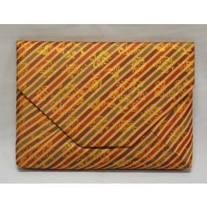 数寄屋袋 正絹 「細縞金春金襴」|cyadougu-hougadou