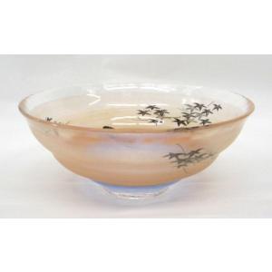 ガラス平茶碗 朝を待つ平茶碗 片岡六兵衛作 耐熱ガラス使用 夏用の平茶碗 義山平茶碗|cyadougu-hougadou