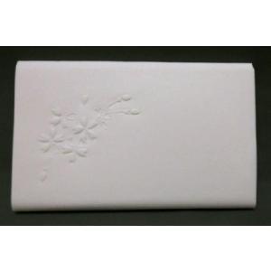 <茶道具・懐紙>浮き彫り懐紙 さくら 1帖|cyadougu-hougadou