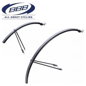 BBB BFD-22 (BBB スリムガード フェンダー) 365322 ブラック ロードバイク 泥...