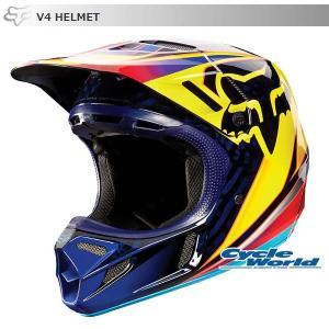 《セール特価》【FOX】V4レースヘルメット 《オレンジ》 MIPS搭載モデル フォックス|cycle-world