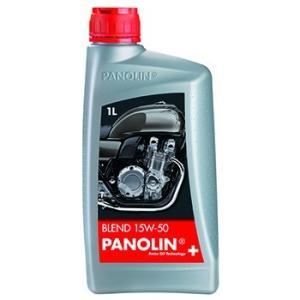 〔PANOLIN〕BLEND 15W-50 1L ブレンド 4ST 4サイクル パノリン 岡田商事|cycle-world