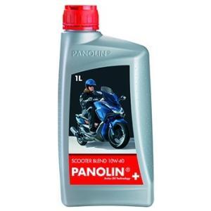 〔PANOLIN〕SCOOTER BLEND 10W-40 1L スクーターブレンド 4ST 4サイクル パノリン 岡田商事|cycle-world