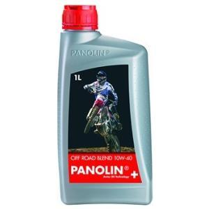 〔PANOLIN〕OFF ROAD BLEND 10W-40 1L オフロード ブレンド 4ST 4サイクル パノリン 岡田商事|cycle-world