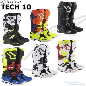 〔alpinestars〕 2010014 TECH 10 ブーツ 正規品 アルパインスターズ テックテン TECH10 モトクロス オフロード|cycle-world