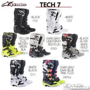 〔alpinestars〕 2012014 TECH 7 ブーツ 正規品 アルパインスターズ テック7 TECH7 モトクロス オフロード|cycle-world