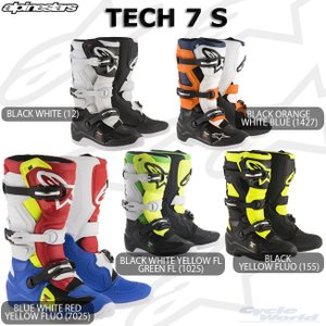 〔alpinestars〕 2015017 TECH 7 S ブーツ 子供用 ユース YOUTH キッズ ジュニア 正規品 アルパインスターズ テック7S TECH7S モトクロス オフロード|cycle-world