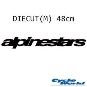 《あすつく》〔ALPINESTARS〕665401 ダイカット<M:48cm> ステッカー DIE CUT MEDIUM VAN STICKER アルパインスターズ cycle-world