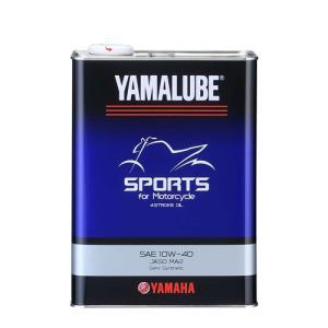 〔YAMAHA〕スポーツ 10w-40 <容量:4L> 90793-32416 純正オイル YAMALUBE ヤマルーブ ヤマハ エンジンオイル SPORTS 4ST 4ストローク バイク用品|cycle-world