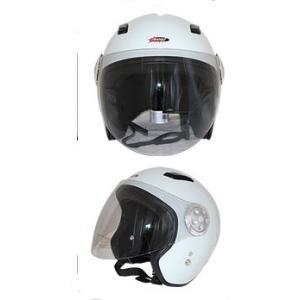 GPカンパニー SPJ-9102S Pilot Jet Helmet パイロットジェットヘルメットカラー ホワイト 【バイク用品】 cycle-world