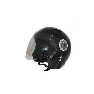 GPカンパニー SPJ-9102S Pilot Jet Helmet パイロットジェットヘルメットカラー ブラック 【バイク用品】 cycle-world