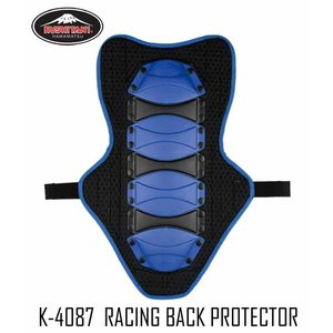 【KUSHITANI】K-4087 レーシングバックプロテクター 背中 脊椎 革つなぎ レザースーツ レーシングスーツ レーシングギア レース クシタニ【バイク用品】|cycle-world