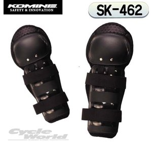 〔コミネ〕SK-462 ハードニープロテクター <膝> ニーシンガード プロテクター ヒザ KOMINE バイク用品|cycle-world