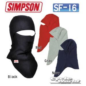 【SIMPSON】SF-16 3Way Full Face Warmer 3ウェイ ネックウォーマー フェイスウォーマー フェイスマスク 防寒 防風 寒さ対策 かっこいい ブラック グレー シ|cycle-world