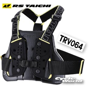 【RS TAICHI】TRV064 TECCELL チェストプロテクター (ベルトタイプ)  テクセル CHEST PROTECTOR アールエスタイチ RSタイチ 胸部|cycle-world