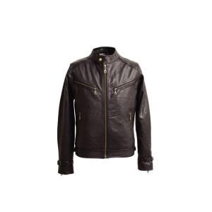 〔DEGNER〕 8SJ-1 レザージャケット 革ジャン メンズ デグナー 本革 正規品 バイク用品|cycle-world