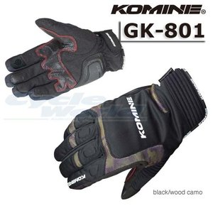 【KOMINE】GK-801 ウインターグローブ-カルタゴ 防寒 保温 冬用 プロテクター コミネ バイク用品|cycle-world