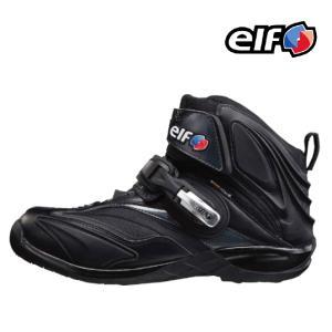 ロングセラー〔elf〕シンテーゼ14 防水ライディングシューズ synthese14 エルフ バイク用 スニーカー バイク用品|cycle-world