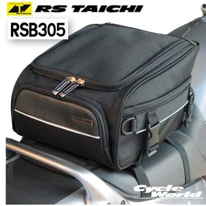 〔RSタイチ〕RSB305 スポーツ シートバッグ.13 <容量:10〜13L> アールエスタイチ ツーリング 鞄 バイク用品|cycle-world