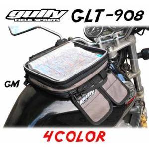 【gully】GLT-908 マグネット式タンクバッグ B5サイズ 4.7ℓ グーリー Tank Bag ツーリングバッグ 強力マグネット 磁石【バイク用品】|cycle-world