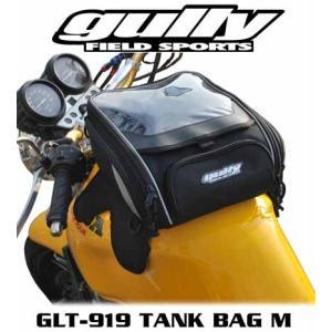 【gully】GLT-919 マグネット式タンクバッグ Mサイズ 6ℓ グーリー Tank Bag ツーリングバッグ 強力マグネット 磁石【バイク用品】|cycle-world